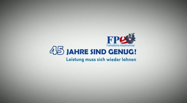 """Freiheitliche Arbeitnehmer: Obmann Rösch setzt sich für """"Hacklerregelung"""" ein"""