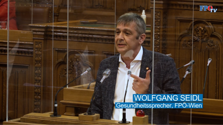 FA Vizeobmann und FPÖ Wien Gesundheitssprecher Wolfgang Seidl zu den Wiener Spitälern