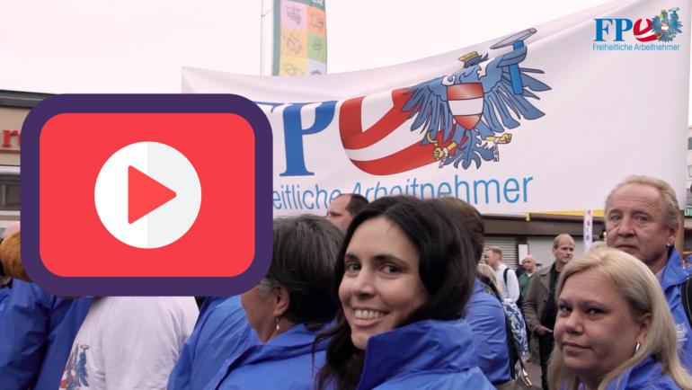 """""""Wir sind das Gegengewicht""""-Kundgebung der FPÖ"""