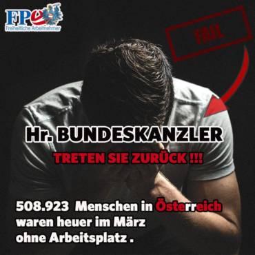 508.923 Menschen in Österreich arbeitslos