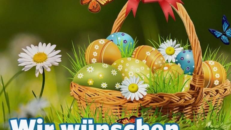 Wir wünschen frohe Ostern